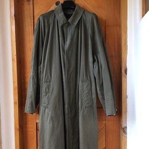 Vintage 1980's Men's Tweeds Brand Trench Coat